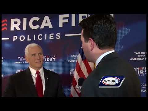 CloseUp: Vice President Pence speaks one-on-one with WMUR