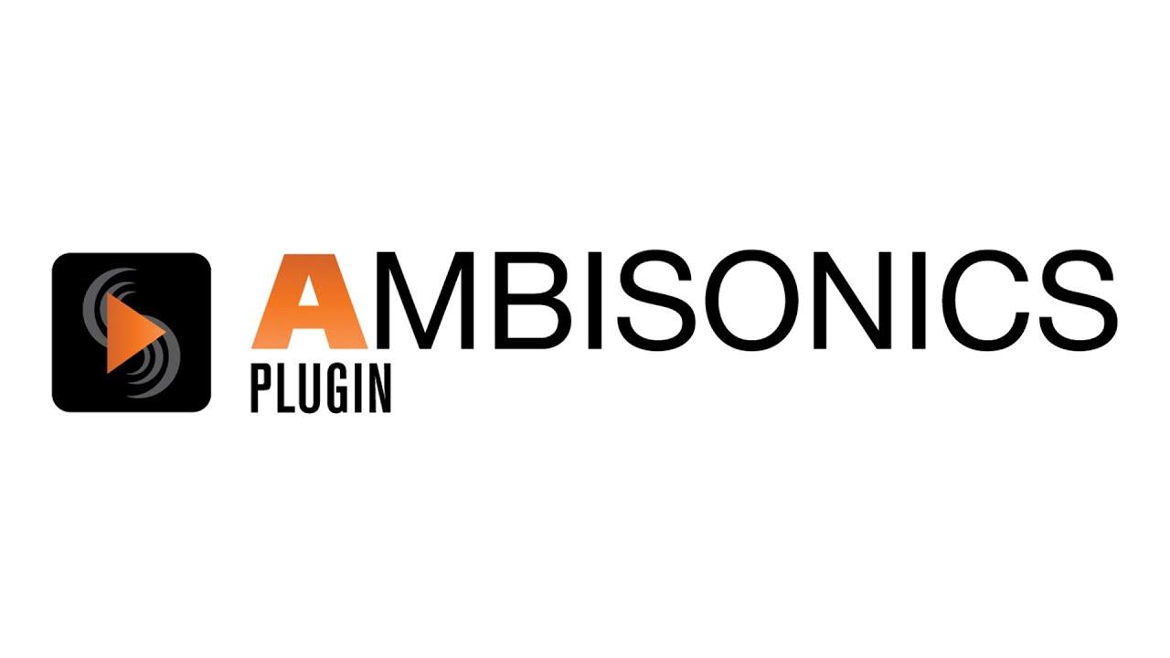 Ambisonics ambisonics plugin - sound devices