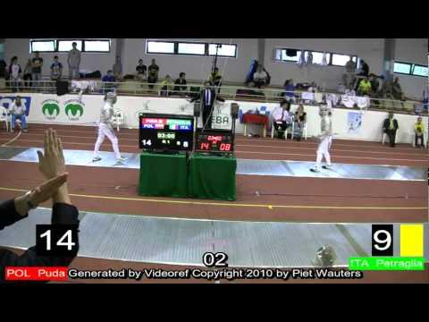 European championships U23 Bratislava Green SF.mp4