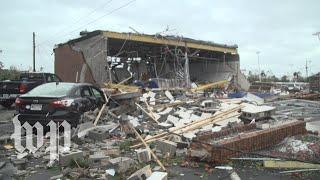 'It's very scary, I don't know if I'll have a house': Storm devastates Florida