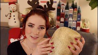 ASMR Christmas Decorations (ft. Acrylic Nails)
