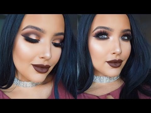 Chocolate Wasted | Gold & Brown Smokey Makeup Tutorial