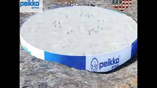 Wind Turbine Foundation Concept Credit Peikko Group by B M C