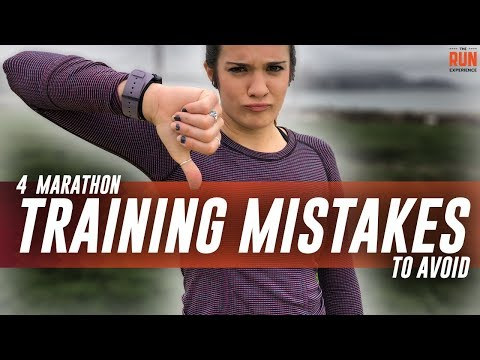 4 Marathon Training Mistakes To Avoid