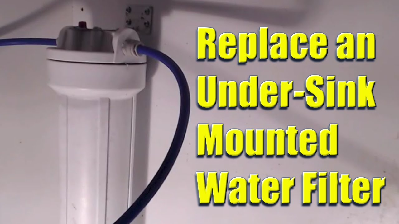 replace a whirlpool model no whkf dwh under sink mounted water filter