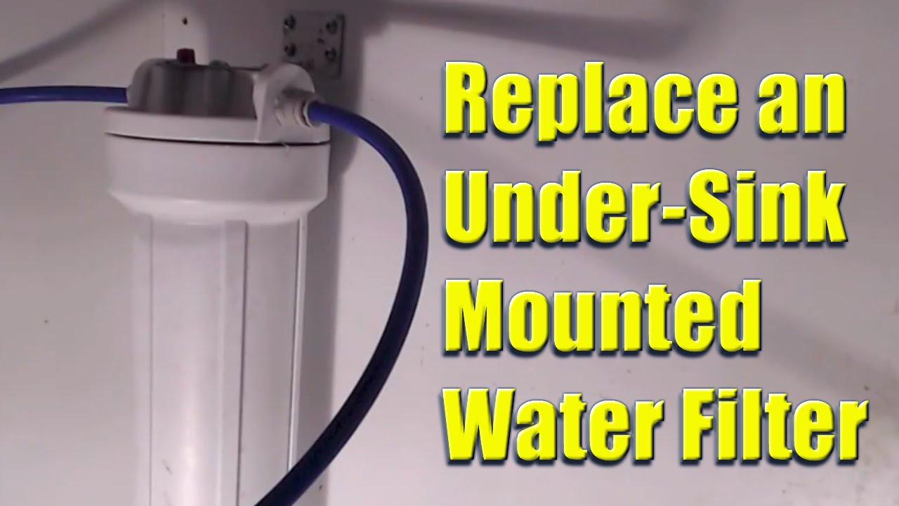 under sink water filter cartridge