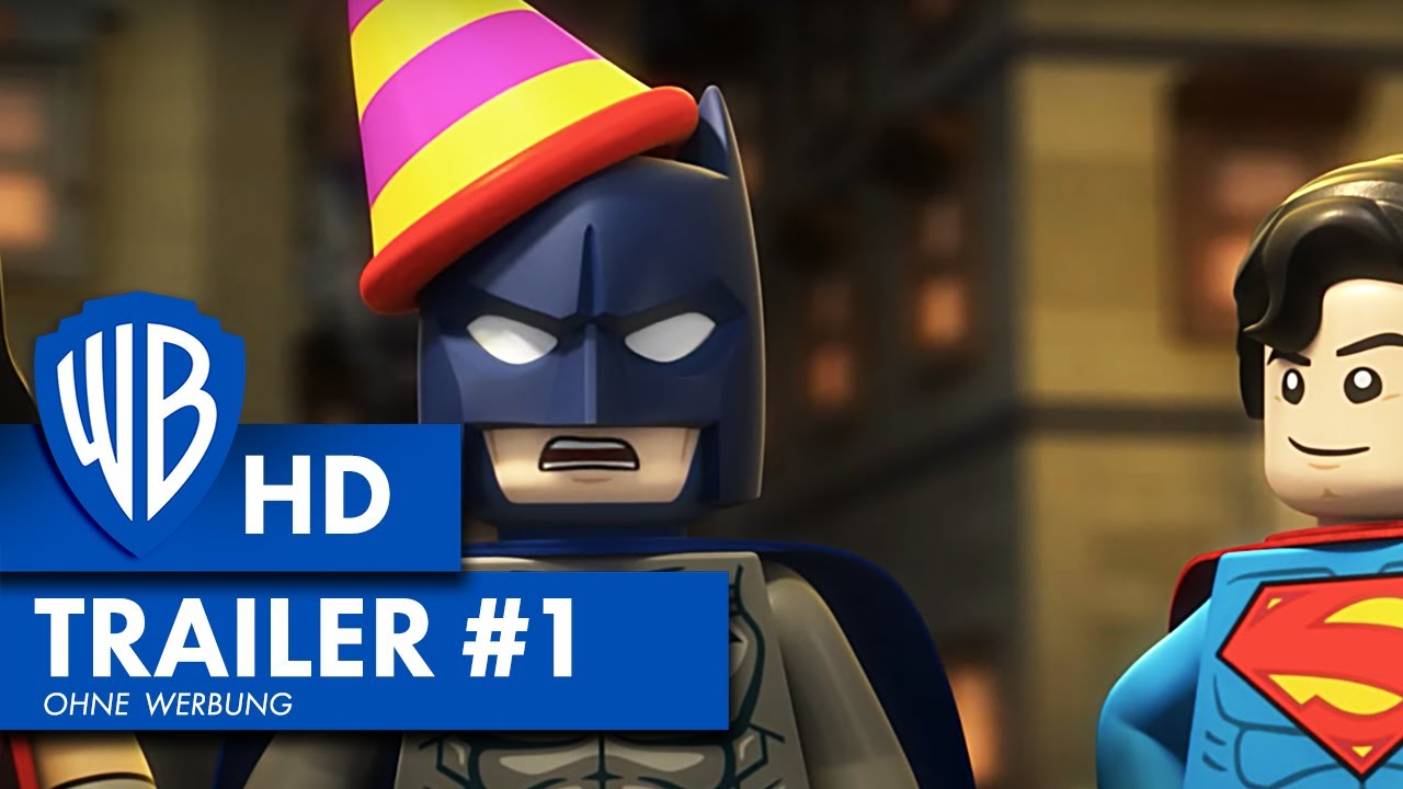LEGO DC SUPER HEROES: JUSTICE LEAGUE: Gefängnisausbruch in Gotham City - Trailer HD (2016)