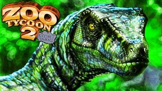 Utahraptor No Parque! | Zoo Tycoon 2 : Extinct Animals (#6) (Gameplay/PT-BR)