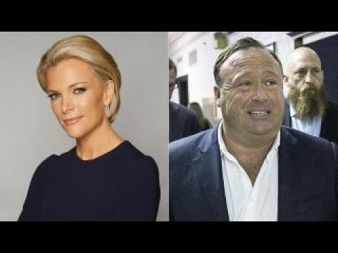 Alex Jones releases recording of interview with Megyn Kelly