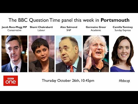 Question Time 26/10/17: Jared O'Mara, ISIS Britons, Brexit traitors, Oxbridge bias & air pollution