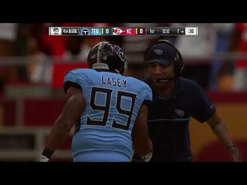 the latest 31db8 af6c2 Madden NFL 19 – Tennessee Titans vs Kansas City Chiefs ...