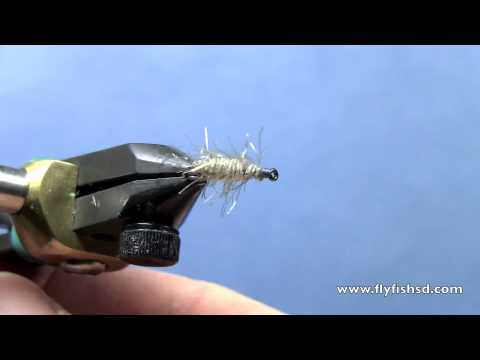 Fly tying with hans george daniel 39 s sowbug youtube for George daniel fly fishing