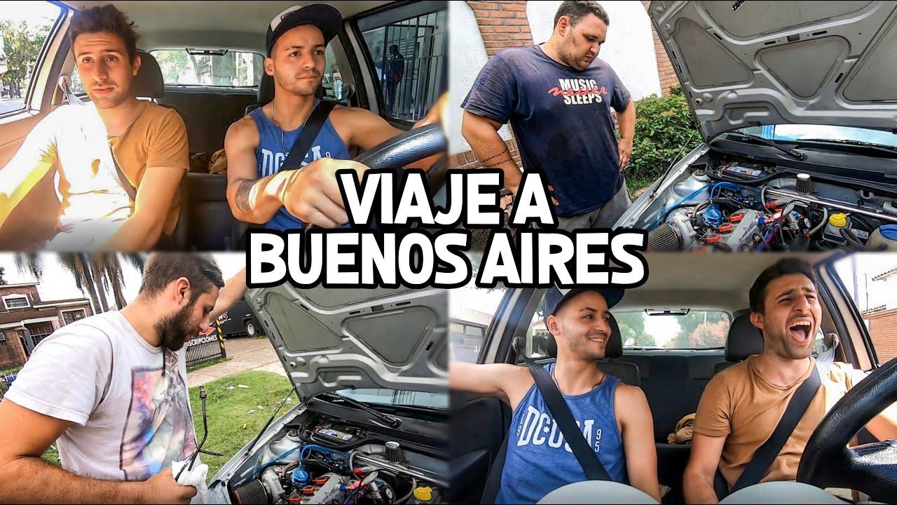 VIAJE A BUENOS AIRES CON EL GOL TURBO ♥ PARTE 1