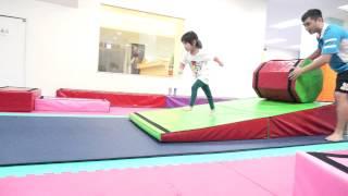 蘋果西打體操課【被球追】