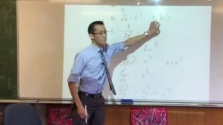 Y11 Maths Ext 1 Quiz (1 of 2: Quadratic inequality, surds, factorials)