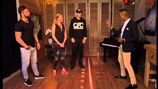 Self defence tips & moves with Ryan and Bailey (16 April 2015)