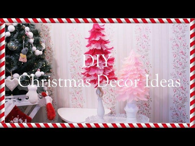 DIY Christmas Decor Ideas  /  Feather Christmas Trees  / Choinka z piórek [anna koper]