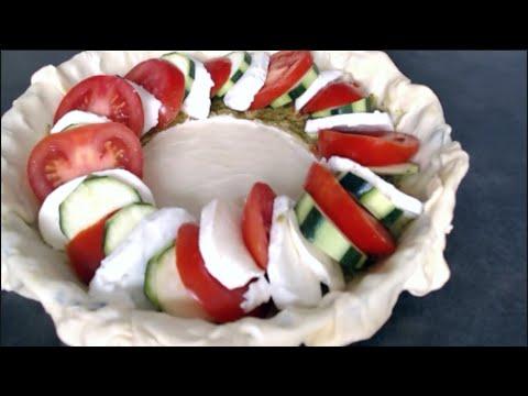 tarte-tomates-courgettes-mozzarella-(recette-facile)
