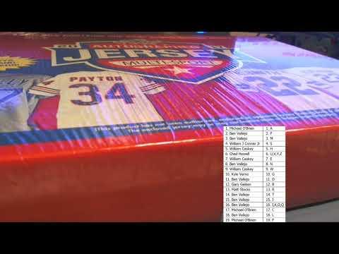 2017 Leaf Autographed Jersey Multi Sport Edition Box ID 17LMSJ104