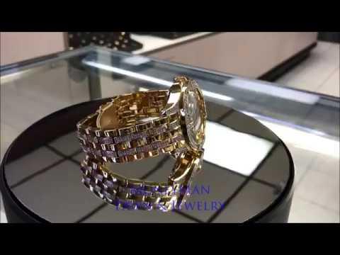 MoneyMan Pawn Jewelry - Elgin Transparent Skeleton Automatic Men's Wrist Watch