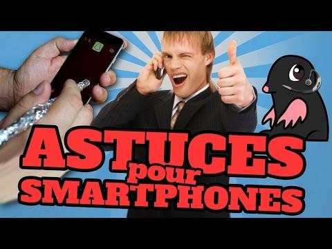 TOP 10 des Trucs et Astuces pour SMARTPHONES
