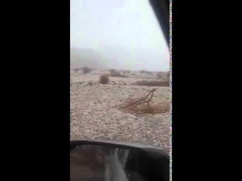 27e8e6cc4 تساقط الثلج في فصل الصيف بالسعودية !! - YouTube