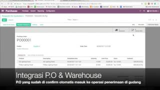 Odoo 10 Demo - Purchasing