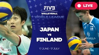 Japan v Finland - Group 2: 2016 FIVB Volleyball World League