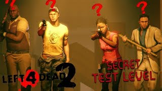 Left 4 Dead 2: Secret Tutorial/Test Level