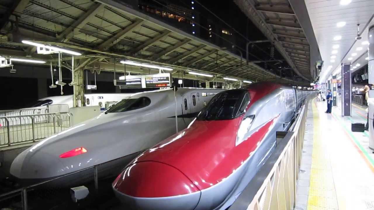 Ferrari Shinkansen Quot Super Komachi Quot And Quot Hayabusa Quot E6