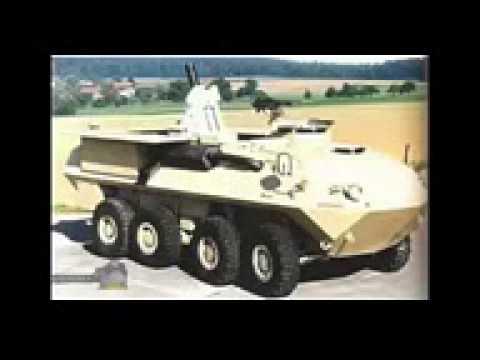 Современная военная техника, боевые автомобили БТР MOWAG Пиранья