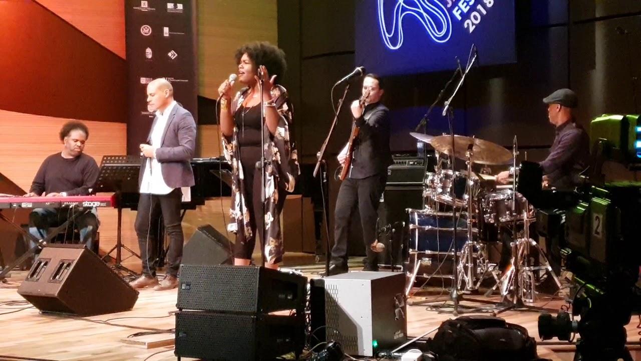 Download Grégoire Maret Group Baku Jazz Festival 2018  feat Christine Dashiel
