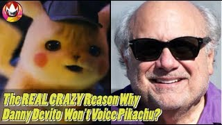 Pokemon Detective Pikachu Will NOT Be Voiced by Danny Devito?
