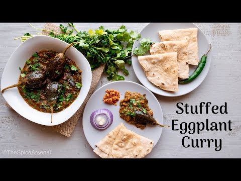 How to make Stuffed Eggplant Curry