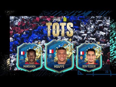 FIFA 20 | DECOUVREZ L'EQUIPE DE LA SAISON LIGUE 1 CONFORAMA