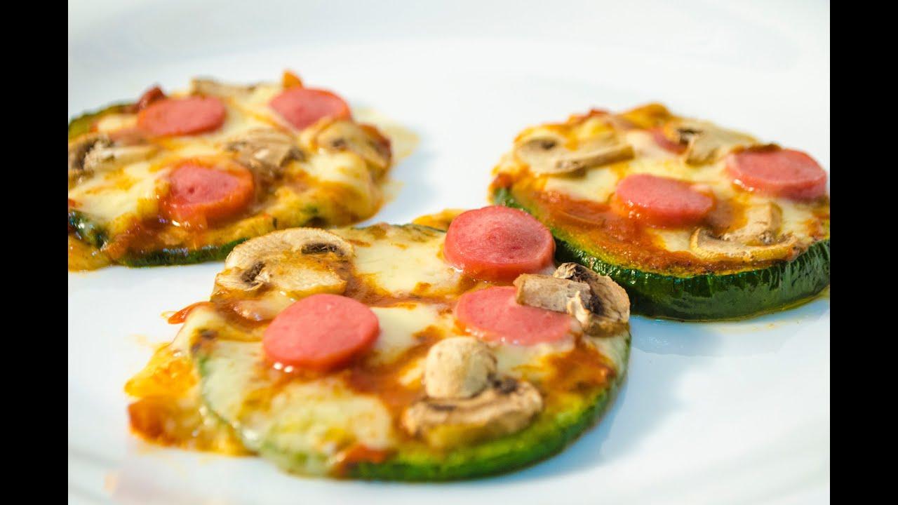 Pizzeta de zapallito receta de vegetales tipo pizza - Variedades de berenjenas ...