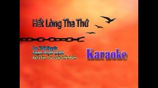 [Karaoke Demo] Hết Lòng Tha Thứ - Lm. Thái Nguyên (Giọng Ca Duyên Quỳnh)