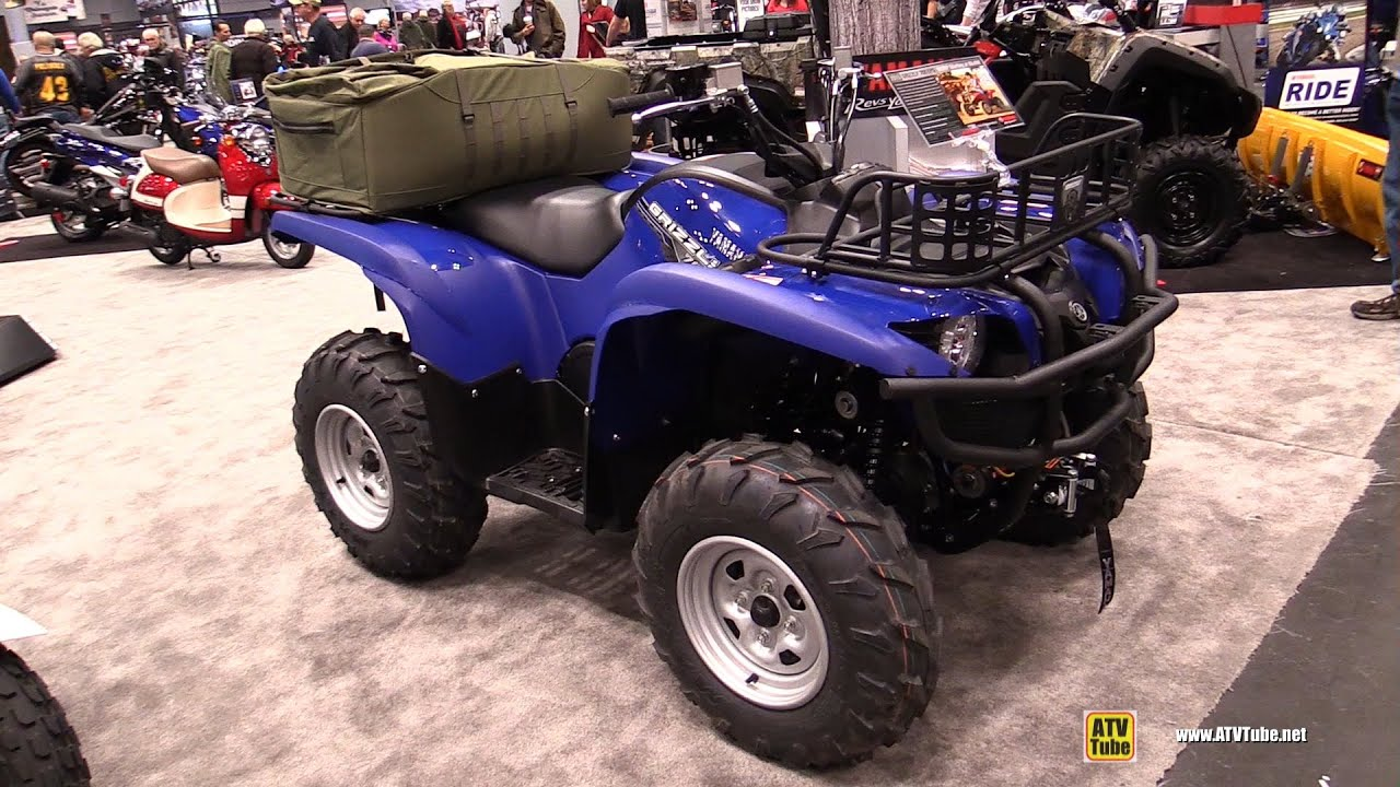 2015 Yamaha Grizzly 700 Eps Utility Atv Walkaround
