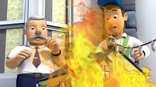 Пожарный Сэм на русском 🌟❄️Игрушечный домик в огне! ❄️Пожарный на помощь 🔥мультфильм