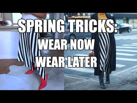 HOW TO TRANSITION INTO SPRING | 4 STYLE TRICKS