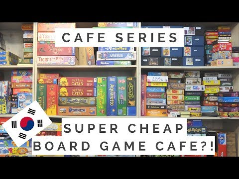 Board Game Cafe | CAFE SERIES EP6