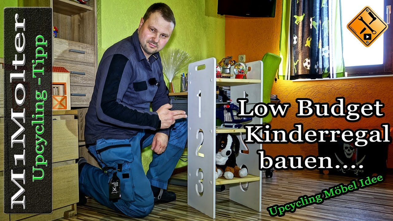 low budget kinderregal bauen bauanleitung kleines. Black Bedroom Furniture Sets. Home Design Ideas