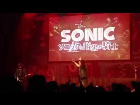 Crush40 LIVE at Sonic 25th Anniversary, Knight of the Wind, (Sonic and the Black Knight)