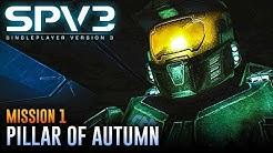 Halo CE (SPV3.2) | Walkthrough - Mission 1: PILLAR OF AUTUMN