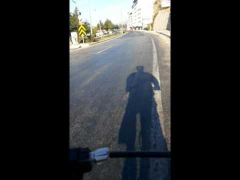 Eğirdir Varyant Bisikletle  Iniş