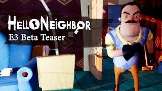 Hello Neighbor E3 Beta Micro-teaser 4k