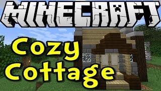minecraft cottage cozy survive thrive tutorial