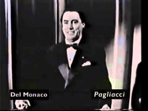 Mario del Monaco  recital   interview