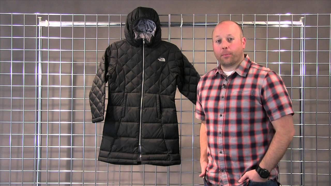 The North Face Girls Metropolis Down jacket 2015-2016 - YouTube 451c4a74422e
