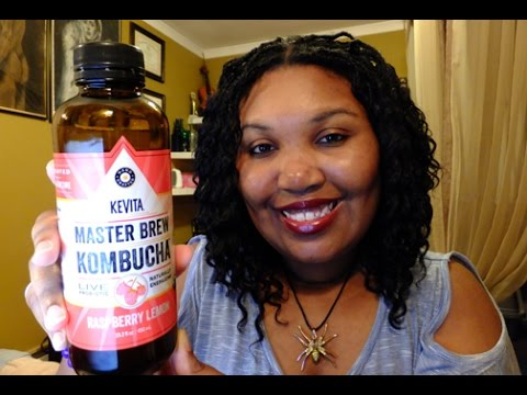 First Time Trying Kombucha Tea! - Drink Review 🍵